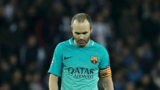 Iniesta: PSG were better than us at everything