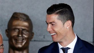 Cristiano Ronaldo Airport overshadowed by dodgy statue