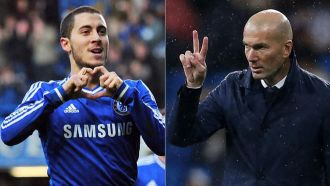Hazard's admiration for Zidane goes back a long way