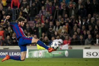 Sergi Roberto: I don & # 039; t know how I noticed, I & # 039; m caught up in it all