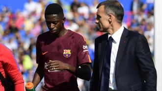 Dembele out for three to four months with hamstring tears