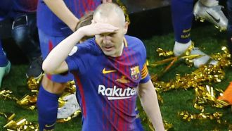 Iniesta please never retire!