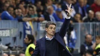Michel: A Malaga man from Real Madrid has lent them a hand