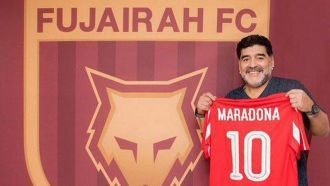 Maradona will coach in the Emirates second division