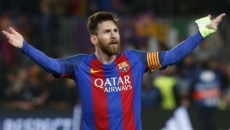 Barcelona's Messi out on his own as Europe's top scorer
