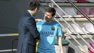 Barcelona admit they are & quot; working to try and convince Messi & quot;