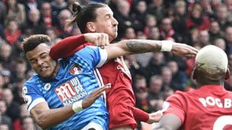 Ibrahimovic: Mings jumped into my elbow