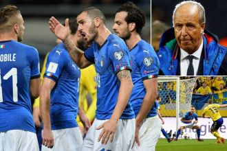 Italy in crisis as four-time World Cup winners need a San Siro miracle to reach Russia 2018 ahead of Sweden
