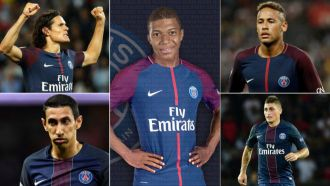 Mbappe rounds off PSG & # 039; s € 640m XI