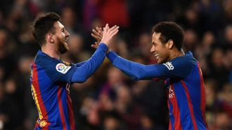 Messi and Neymar strike fear into PSG
