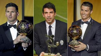 Cristiano Ronaldo, Messi, and Buffon performances heat up Ballon d'Or race
