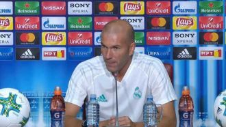 "Zidane: ""Cristiano is with us and he is here to play"""