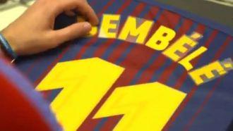 Official: Barcelona sign Dembele for 105m euros
